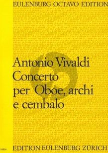 Vivaldi Konzert C-dur PV 44 (F.VII:4) Oboe-Streicher-Bc Partitur