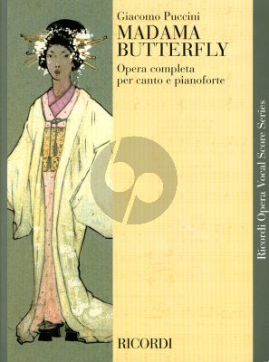 Puccini Madama Butterfly Vocalscore (Italian Text) (Edited by Mario Parenti)