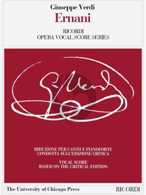 Verdi Ernani Vocal Score (it./engl.)