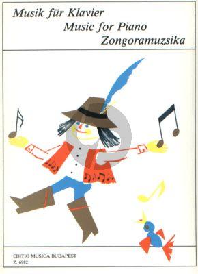 Piano Music for Beginners for Piano Vol. 2 (Intermediate) (Szavai-Veszpremi)