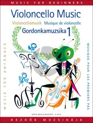 Violoncello Music for Beginners Vol.1