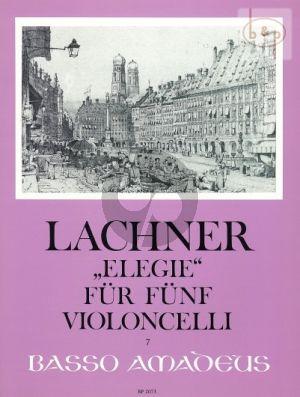 Elegie Op.160 (5 Vc.)