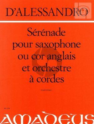 Serenade (Rondeau) Op.12 (Alto Sax.[Cor Angl.]- String Orch.)