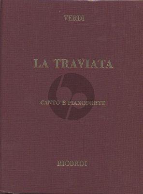 Verdi La Traviata Vocal Score (it.) (Hardcover)
