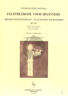 Method for Beginners Op.387 Vol.1 Flute