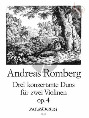 3 Konzertante Duos Op.4 (2 Violins)
