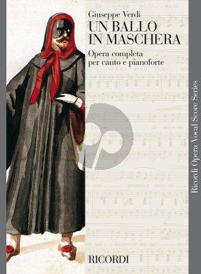 Verdi Un Ballo in Maschera (Vocal Score) (ital.)
