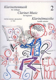 Clarinet-Music for Beginners Vol.2 Clarinet[Bb]-Piano (edited by István Máriássy and János Kuszing)