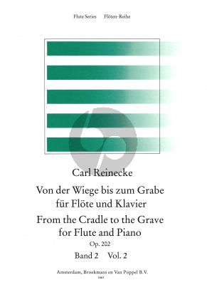 From the Cradle to the Grave Vol.2 (Von der Wiege bis zum Grabe) Flute-Piano