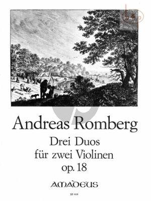 3 Konzertante Duos Op.18 (2 Violins)