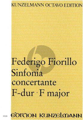 Sinfonia Concertante F-Dur 2 Oboen und Orchester