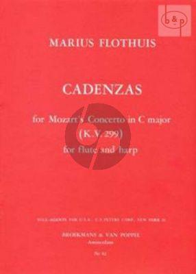 Cadenzas to Mozart's Flute-Harpconcerto KV 299 C-major