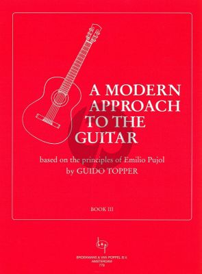 Topper Modern Approach to the Guitar Vol.3 (Based on the Principles of Emilio Pujol)