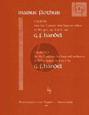 Cadenzas to Handel's Harp Concerto Op.4 No.6 B-flat major