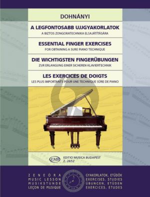 Essential Finger-Exercises for Piano