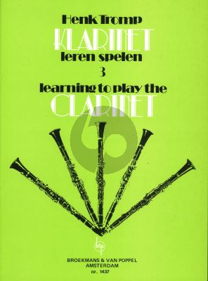 Tromp Learning to Play the Clarinet deel 3