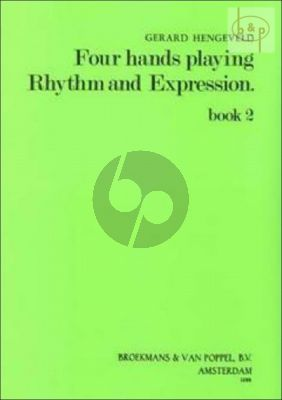 Four Hands Playing Rhythm and Expression Vol.2