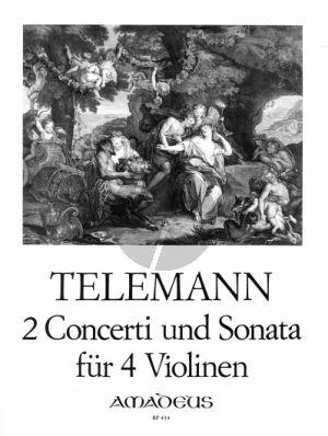 2 Konzerte und Sonata (Stimmenausgabe) (Morgan)