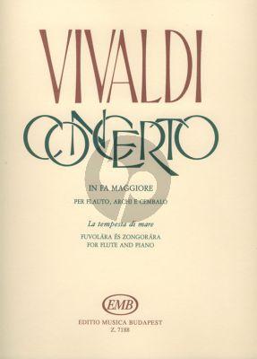 Vivaldi Concerto F-major RV 433 (La Tempesta di Mare) Flute-Piano (Henrik Prőhle)