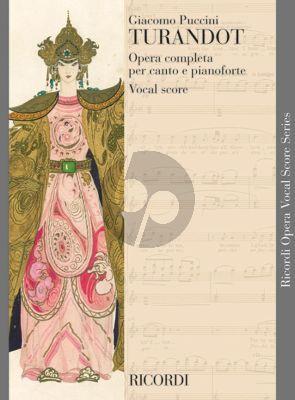 Turandot Vocal Score (Ricordi)