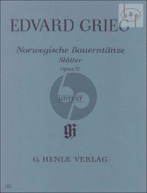 Norwegische Bauerntanze Op.72 (Slatter)