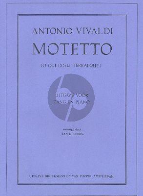 Motetto 'Qui coeli Terraeque serenitas' RV 631 Soprano- Strings-Bc