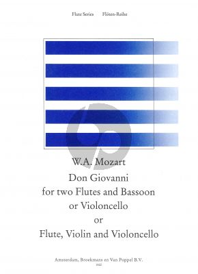 Don Giovanni 2 Flutes [Ob./Fl.]-[Fl./Vi.]-Vc./Bsn) (Parts)
