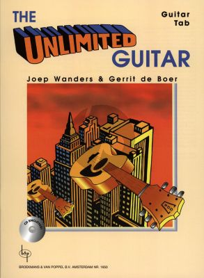 Boer-Wanders The Unlimited Guitar (Bk-Cd) (Guitar Tab) (Grade 3 - 4) (26 Pieces)