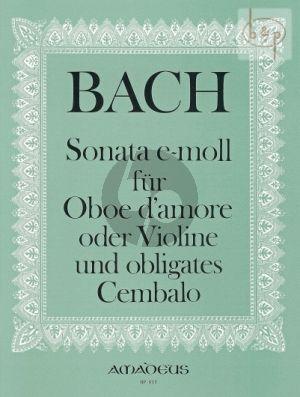 Sonate No.4 e-moll (nach Orgeltriosonate BWV 528)