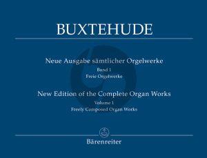 Buxtehude Orgelwerke Vol.1 (Freie Orgelwerke) (Christoph Albrecht) (Barenreiter-Urtext)