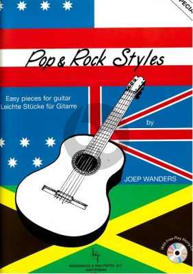 Wanders Pop & Rock Styles (Bk-Cd) (Easy Pieces) (Grade 1 - 2)