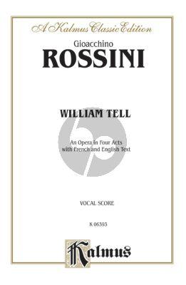 Rossini William Tell (Guillaume Tell) Vocal Score (engl./fr.)