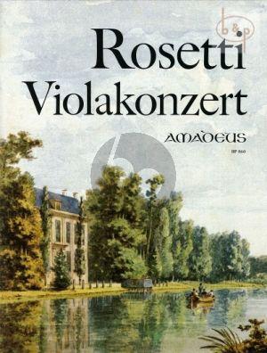 Rosetti Concerto G-dur RWV C15 Viola und Orchester (Klavierauszug) (Chris Walton)