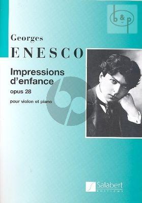 Impressions d'enfance Op.28 Violin-Piano