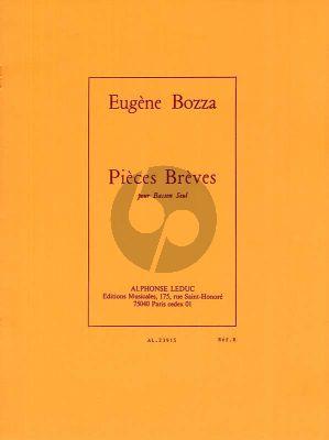 Bozza Pieces Breves Basson seul
