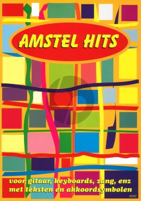 Amstel Hits Zang-Gitaar-Keyboard (Melodielijn met Akkoorden)