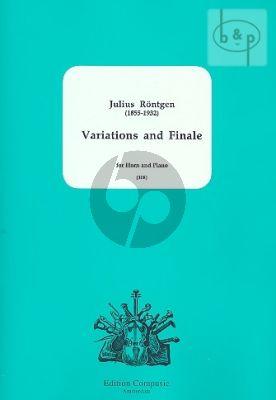 "Variations and Finale uber ""Sankt Nepomuk"""