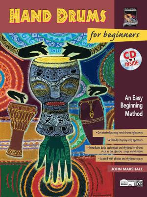 Marshall Hand Drums for Beginners (Easy Beginning Method) (Bk-Cd)