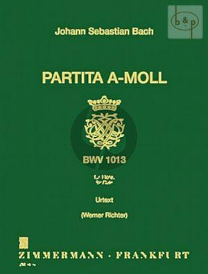 Partita a-moll BWV 1013 Flöte solo