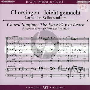 Messe h-moll (Hohe Messe) BWV 232 Alt Chorstimme