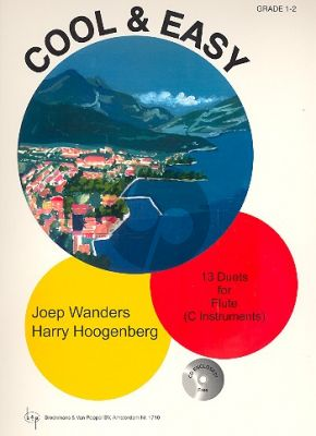 Wanders-Hoogenberg Cool & Easy (Bk-Cd) (13 Duets for Flute [C Instruments]) (Grade 1 - 2)