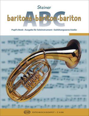 Steiner Baritone ABC (Bass Clef) (with Piano Accompaniments)