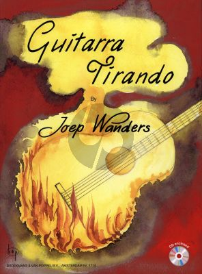 Wanders Guitarra Tirando (39 Pieces focussed on the Tirando Stroke) (Grade 1 - 2) (With Sample Cd)