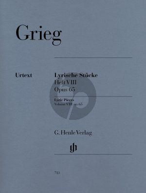 Grieg Lyrische Stucke Vol.8 Op.65 (Henle-Urtext)
