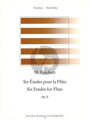 6 Etudes Opus 6 for Flute