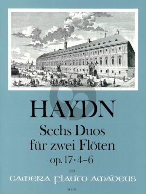6 Duos Op. 17 Vol. 2 (Nos. 4 - 6) 2 Flutes