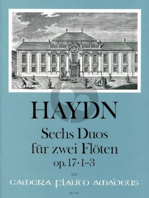 6 Duos Op. 17 Vol. 1 Nos. 1 - 3 2 Flutes