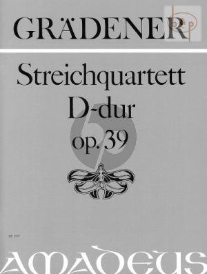 Quartett No.2 D-dur Op.39
