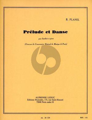 Planel Prelude et Danse Hautbois et Piano