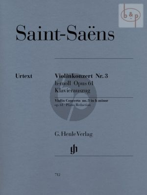 Concerto No.3 b-minor Op. 61 Violine und Orchester
